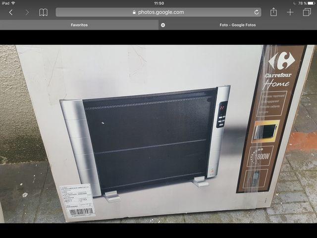 Dos Paneles electricos calefactores