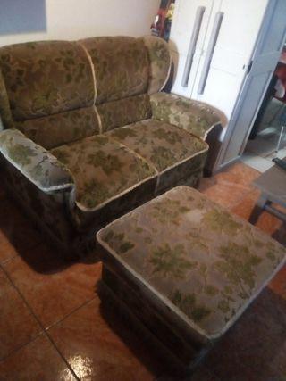 sofa dos plazas 35€