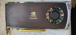 Targeta Grafica de vídeo Nvidia FX3800 Profesional