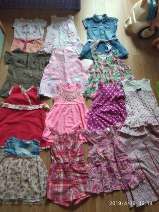 vestidos 18/24 meses de verano