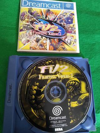 Juego fighting vipers 2 Sega dreamcast