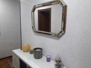 Espejo recibidor antiguo vintage