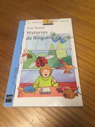 Libro historias de ninguno