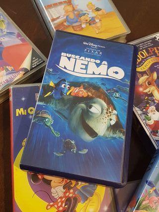 Reproductor VHS + 32 películas