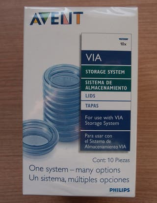 Tapas almacenamiento AVENT Philips