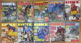 Lote Revistas BIKE y Solo Bici