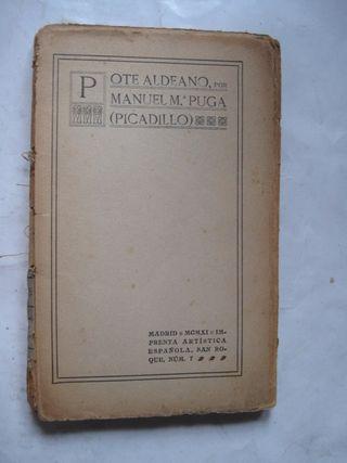 libro pote aldeano manuel mª puga picadillo 1911