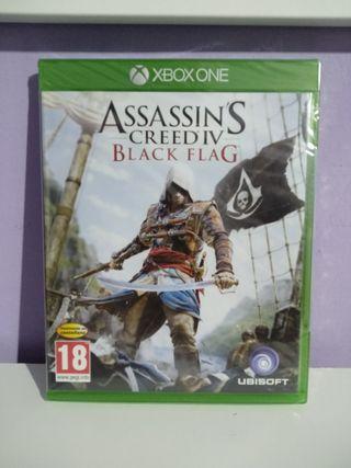 Assassins creed black flag IV Xbox one nuevo
