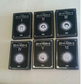 colección de libros Death Note Black edition