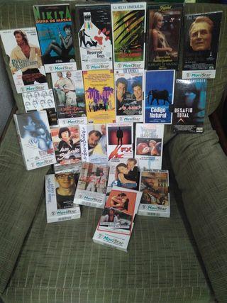 Películas CLASICAS en VHS
