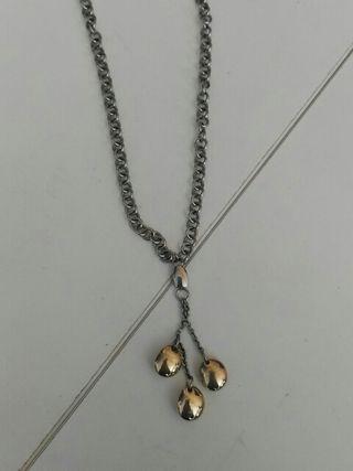 colgante de plata lotus
