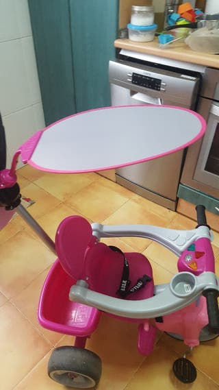 triciclo baby plus feber rosa