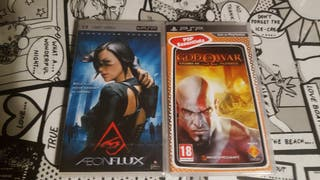 God of War Chains of Olympus + Aeunflux PSP