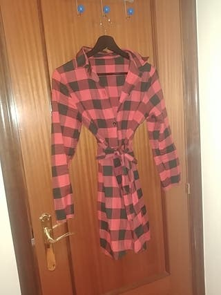 Vestido Camisa Talla M