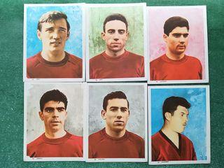 35 CROMOS SELECC. ESPAÑONA MUNDIAL INGLATERRA 1966