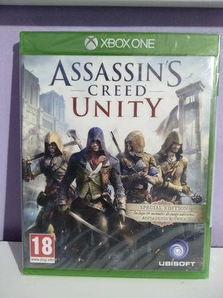 Assassins creed unity Xbox one nuevo