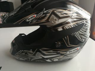 Casco cross Shiro talla xs