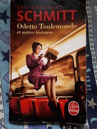 """libro francés """"odette toulemonde"""""""
