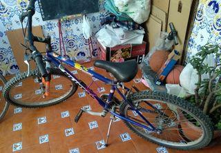 bicicleta grande para niño