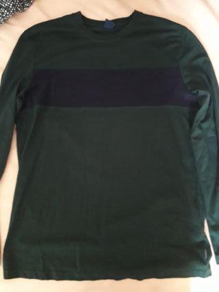 Camiseta manga larga springfield