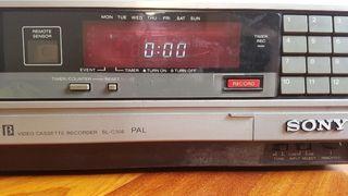 Grabador-reproductor Sony Betamax SL-C30 E