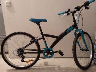 Bicicleta montaña 24 pulgadas niño