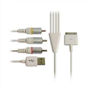 0GU | ipad 2 / iphone 4 cable av - usb mediante co