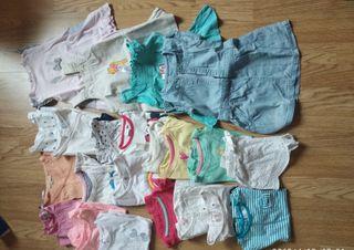 lote 4. ropa verano niña 12 meses
