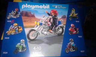 Moto chopper 5526 playmobil