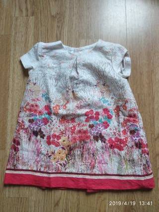 vestido Zara talla 9/12