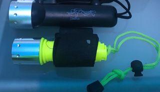 Pack linternas pesca submarina
