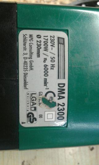 Amoladora 230 mm
