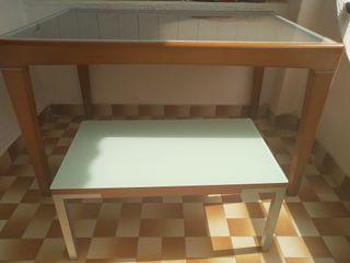 Mesa comedor y mesa centro