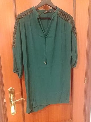 Blusa Verde Talla M