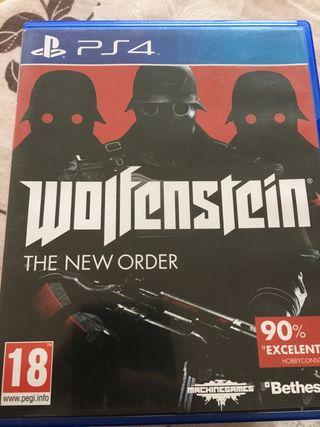 Wolfenstein new order ps4