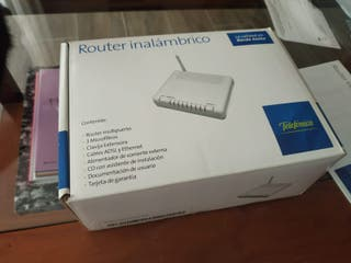 Router inalambrico ADSL