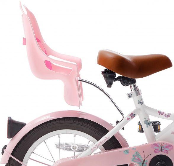 "Bicicleta infantil Popal Little Miss blanco 14"""