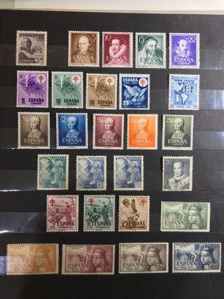 Sellos de España Años 1949/53**