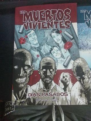 Cómics The Walking Dead.