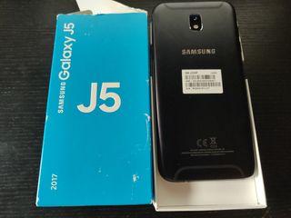 Samsung Galaxy J5 2017 caja y accesorios