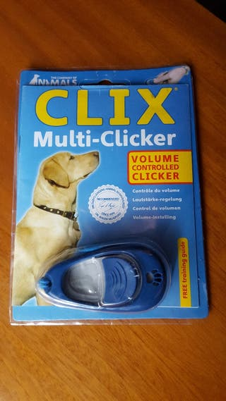 Clix Multi-Clicker para adiestramiento de perros