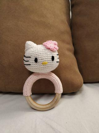 Sonajero mordedor Hello Kitty