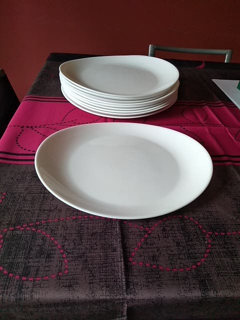 10 platos, diseño