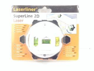 Nivel laser laserliner superline 2d