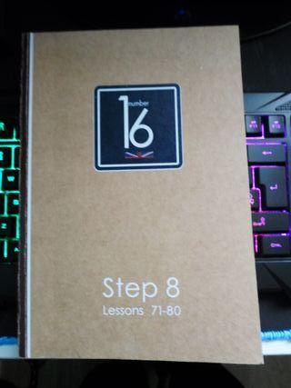 Libro Number 16 Step 8
