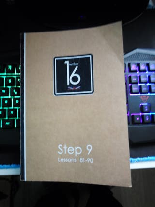 Libro Number 16 Step 9