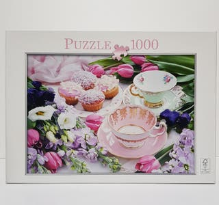 Puzzle Hora del té 1000 piezas