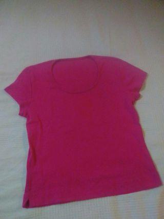 Camiseta talla M rosa