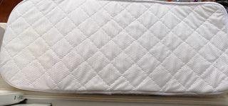 colchón y funda capazo / minicuna aerosleep