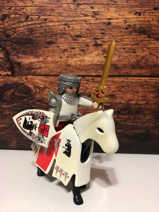 Playmóbil, rey a caballo